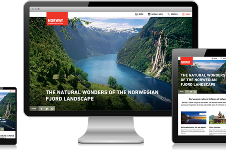 Norway Responsive Layout