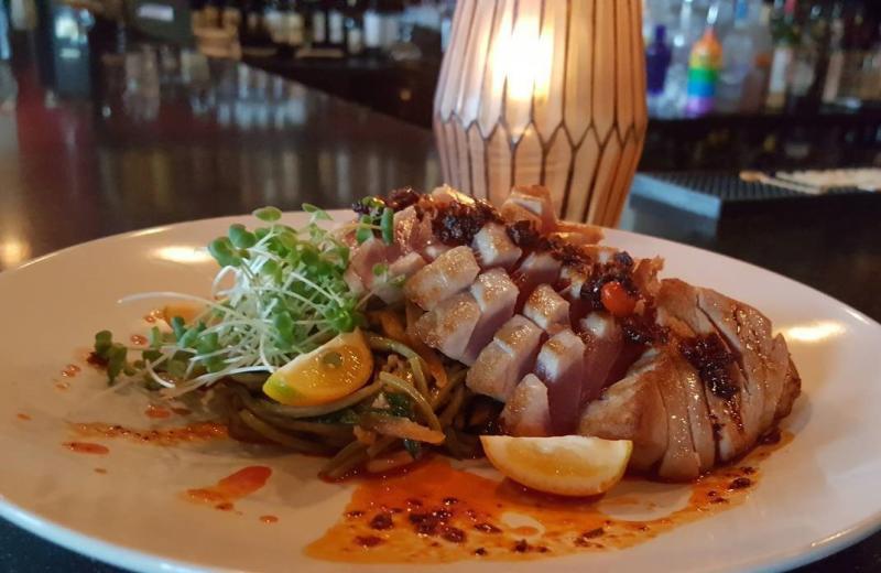 A tuna dish from Truffles