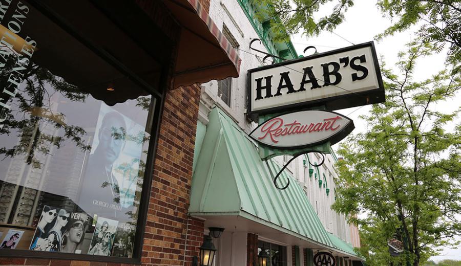 Haab's Restaurant Exterior