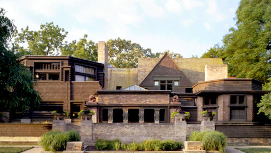 Frank Lloyd Wright Chicago Map.Frank Lloyd Wright By Bike Take A Guided Tour Of 21 Spots Part Of