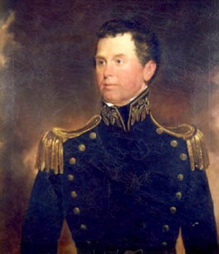 Painting of Commodore Isaac Mayo