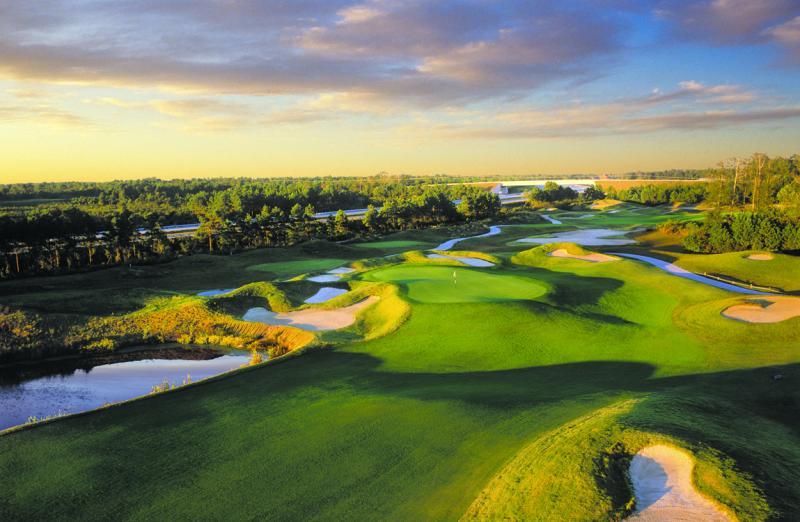 Dye Course Barefoot Golf