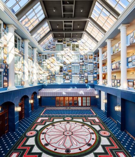 The Atrium of The Graduate Hotel.
