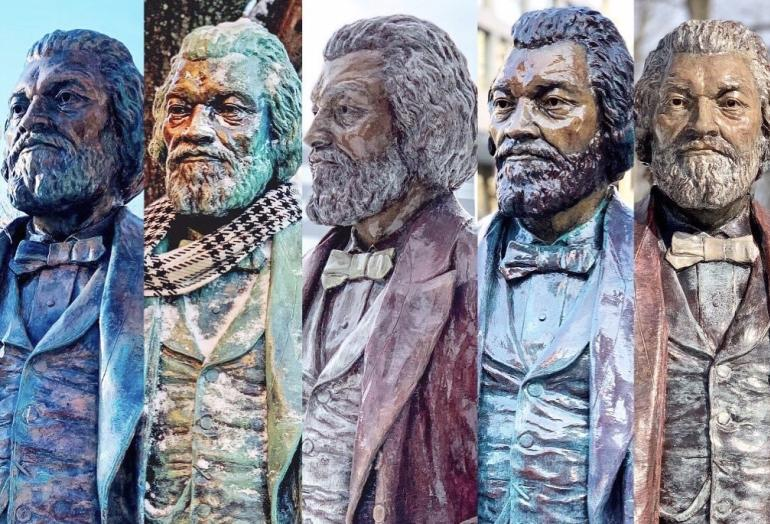Frederick Douglass Statues in Rochester, NY