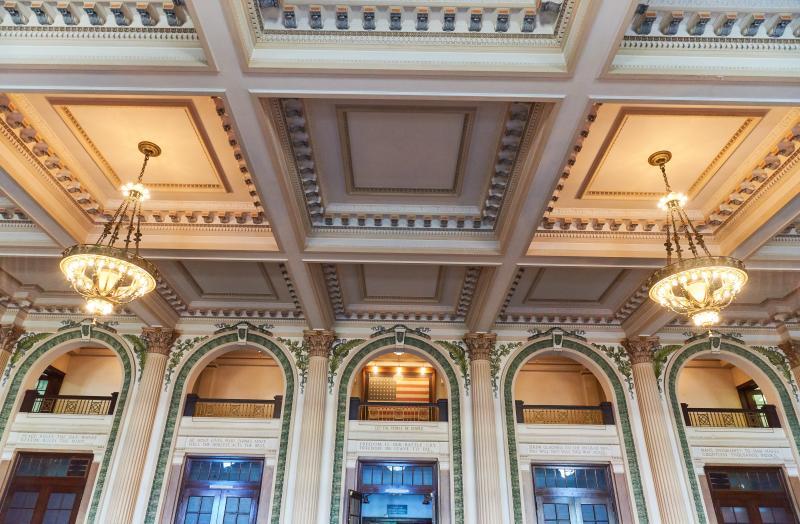 Memorial Hall Inside Lobby