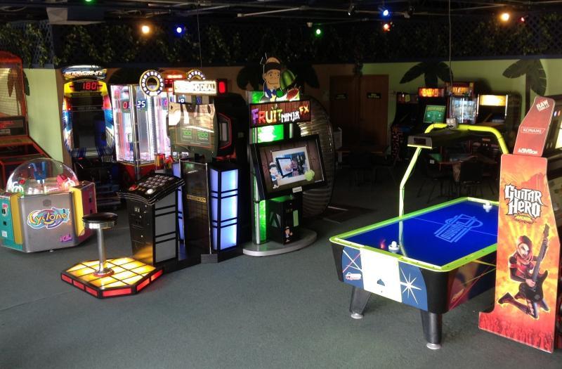 Arcade area in LaserLite