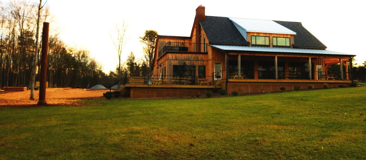 exterior view Winery at Sunshine Ridge