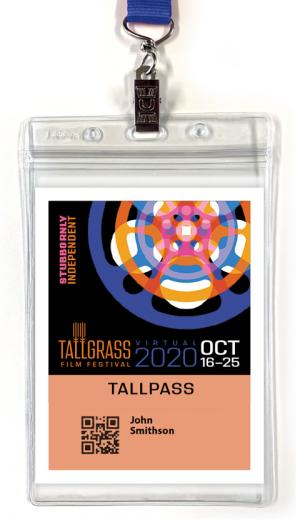 Tallgrass Film Festival 2020 Tallpass
