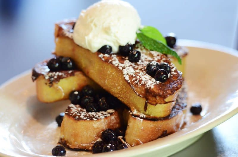 French toast at 3 Squares Restaurant