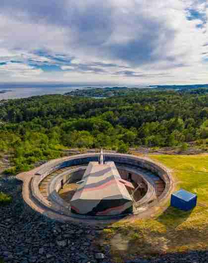 Kristiansand WW2 cannon museum Kanonmuseet