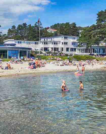 Strand Hotel Fevik i Grimstad