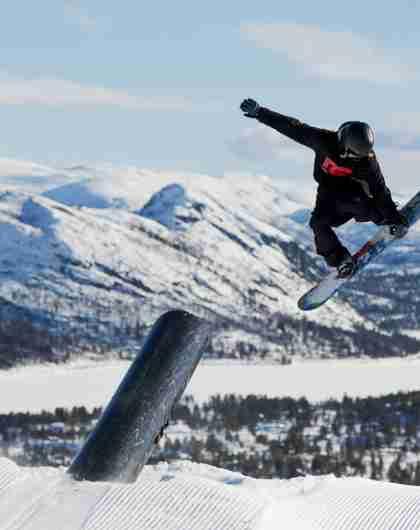 Snowboarding Hovden