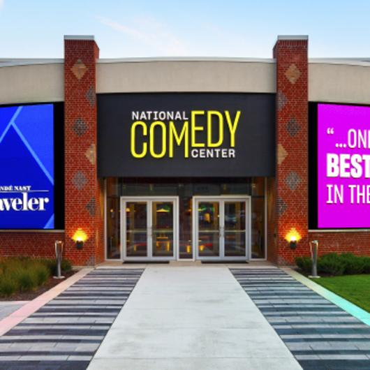 Matteo Lane at the National Comedy Center