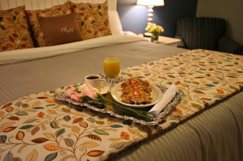 Breakfast in Bed - Watkins Glen Harbor Hotel