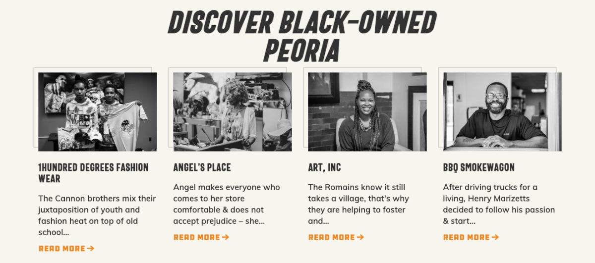 Black-owned Peoria listings