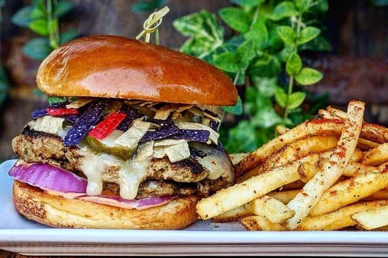 Turkey Burger from The Tap