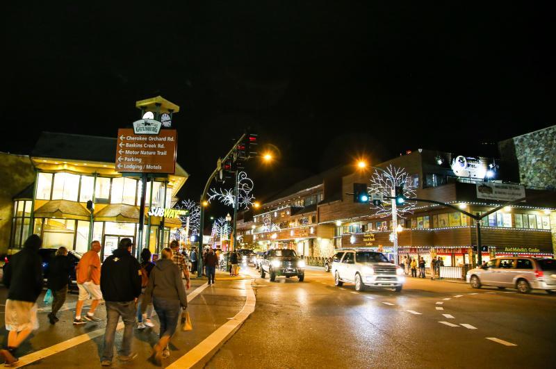 Gatlinburg during Winter months