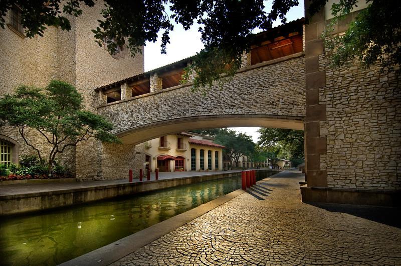 Mandalay Canals with Bridge - Las Colinas Urban Center