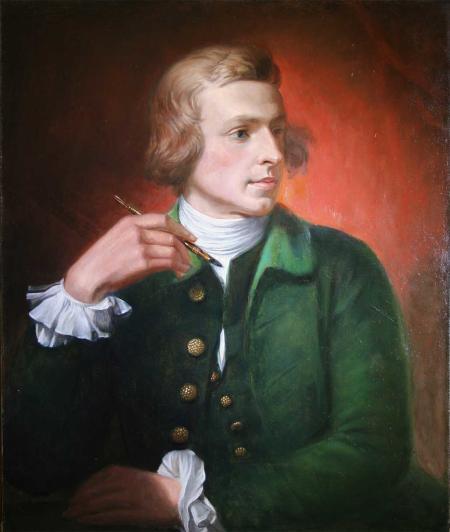Portrait of Charles Wilson Peale.