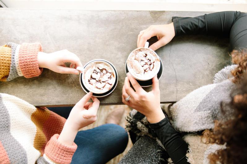 Coffee at Blackbird winter