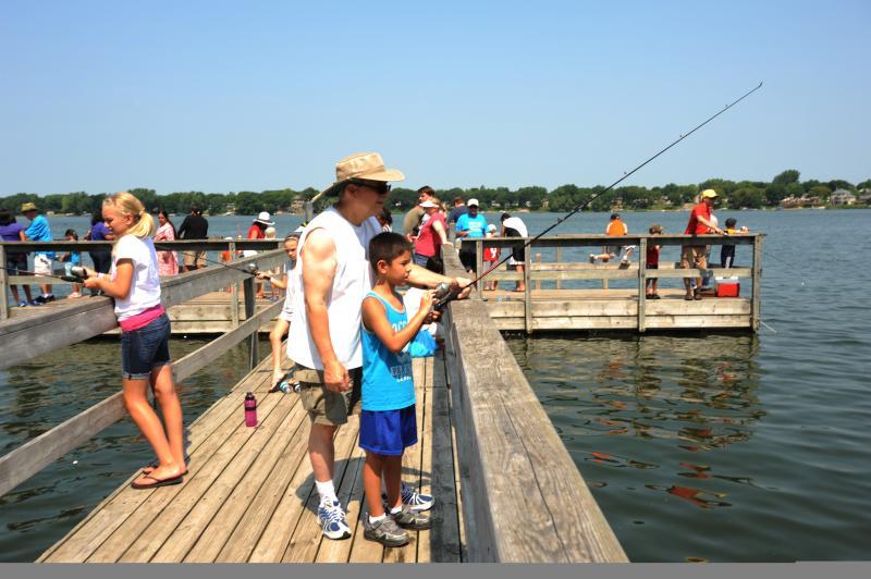 Weaver Lake fishing