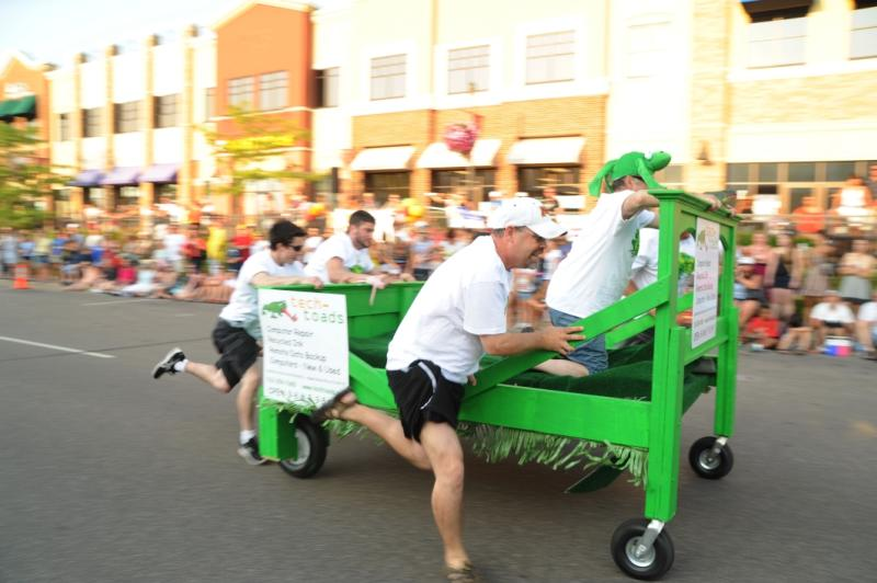 Maple Grove Days bed races