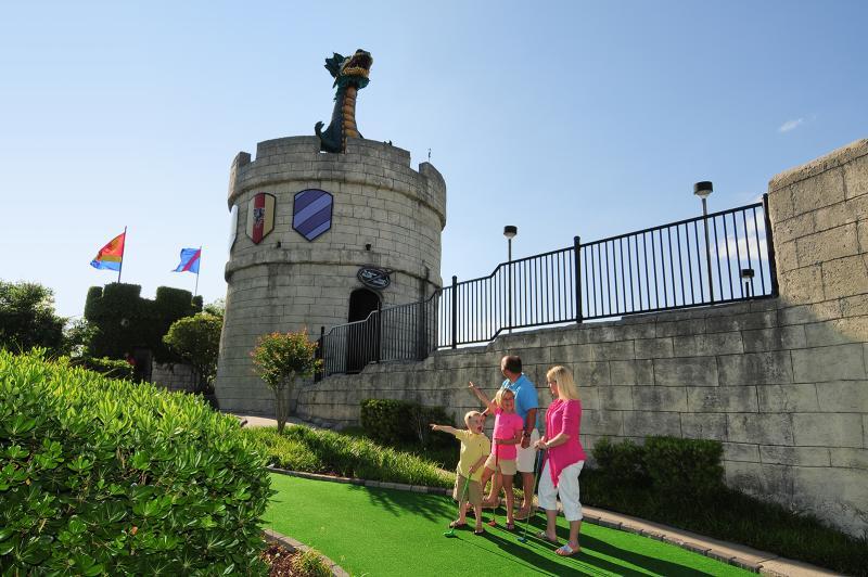 Dragon's Lair Mini Golf