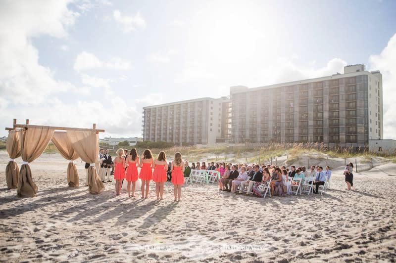 Shell Island Wedding, Wrightsville Beach