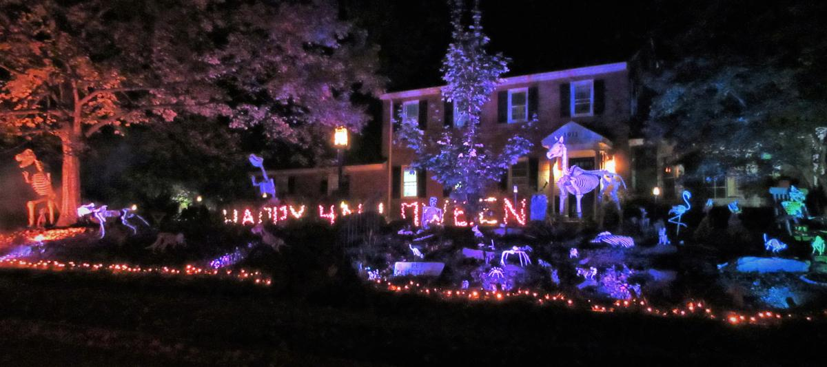 Stirrup St - Halloween Light Display