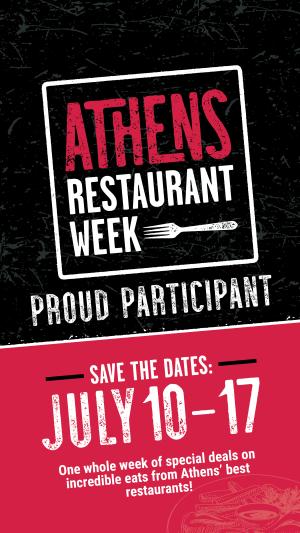 Restaurant Week save date-stories