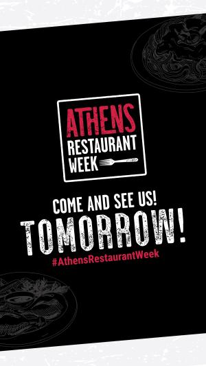Restaurant Week tomorrow-stories
