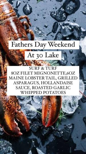 30 Lake Father's Day