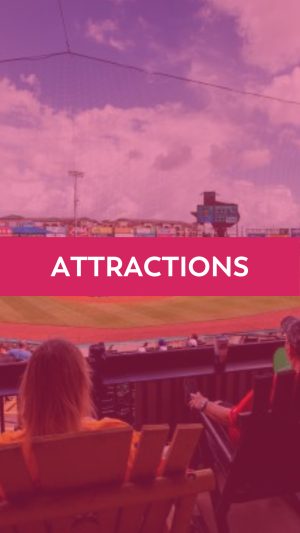 Attractions button showcasing Constellation Field.
