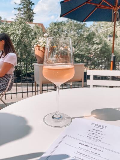 Coast Wine House Patio