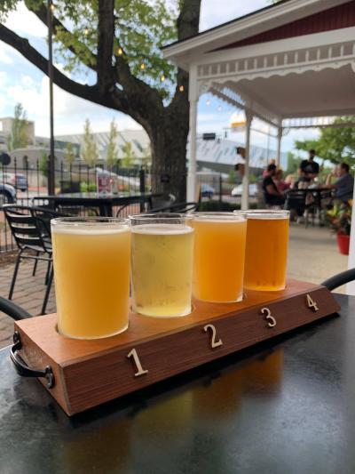 North High Brewing Beer Flight