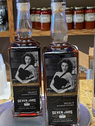 Ava Gardner Whiskey Bottle