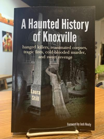 A Haunted History of Knoxville is a book that tells the supernatural details of Knoxville, TN.