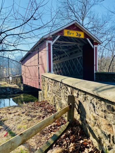 Ashland Covered Bridge - Hockessin, Delaware