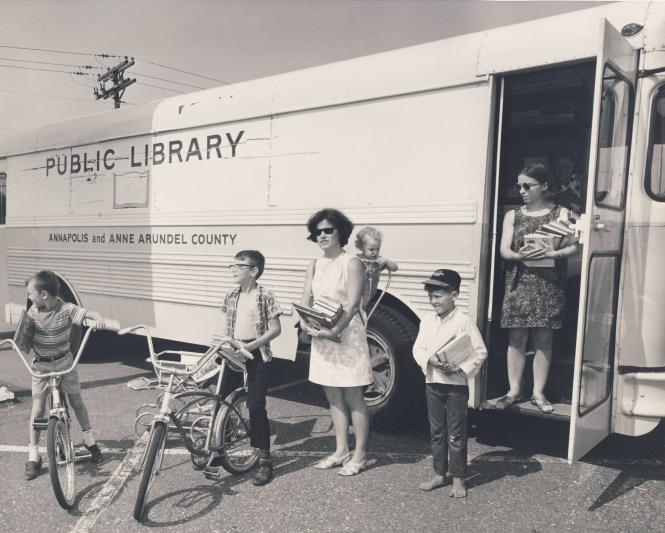The Mobile Library of Annapolis & Anne Arundel County.