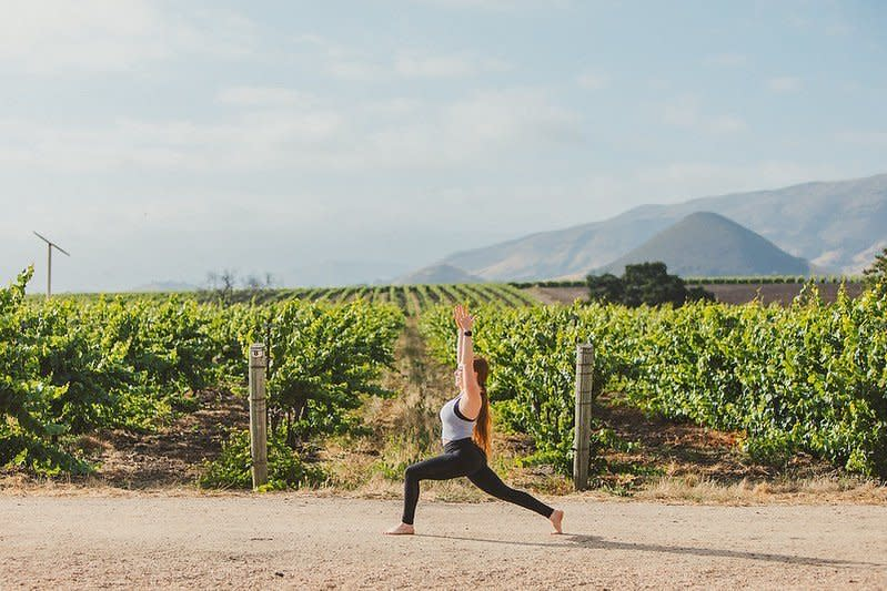 yoga winery