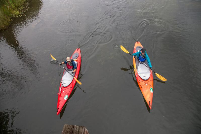 Paddling on the Chain of Lakes
