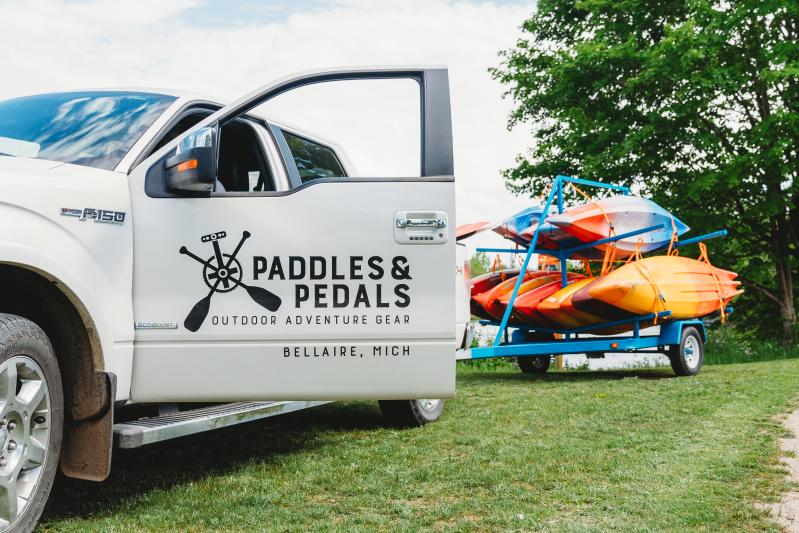 Rental Equipment for Paddling on the Chain of Lakes