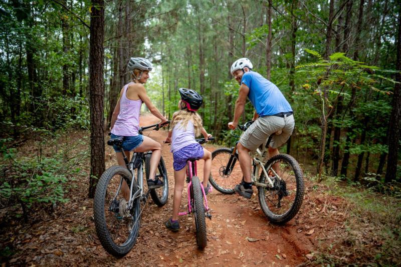 Mountain bike family Athens