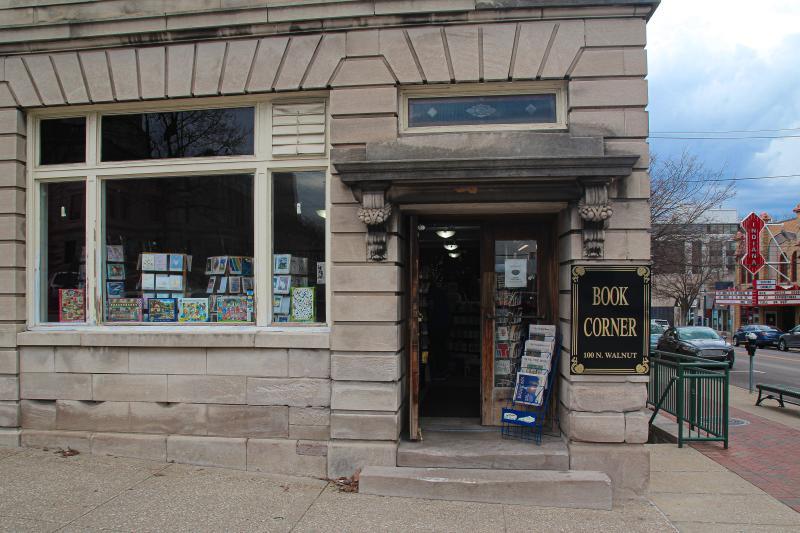 Exterior of the Book Corner