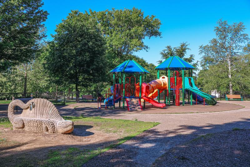 Playground at Bryan Park