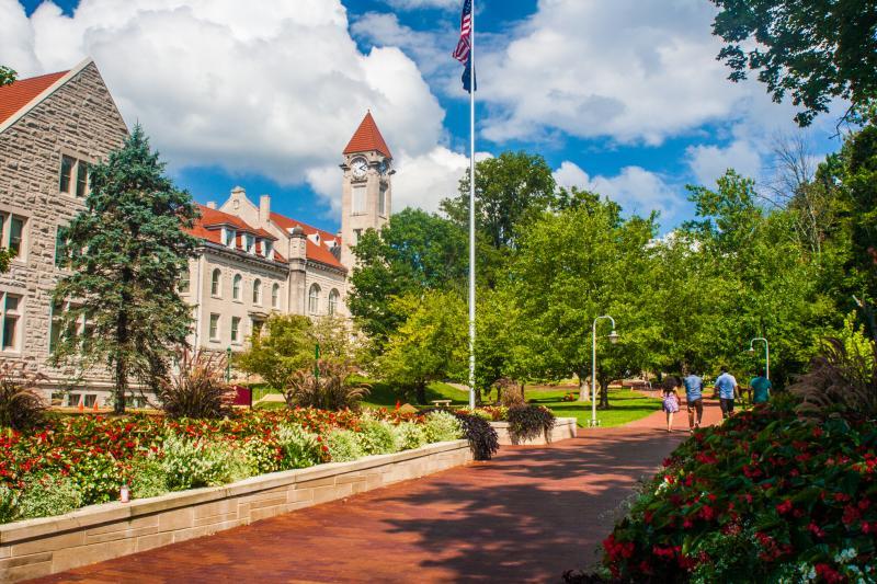 IU Campus In Bloomington, IN
