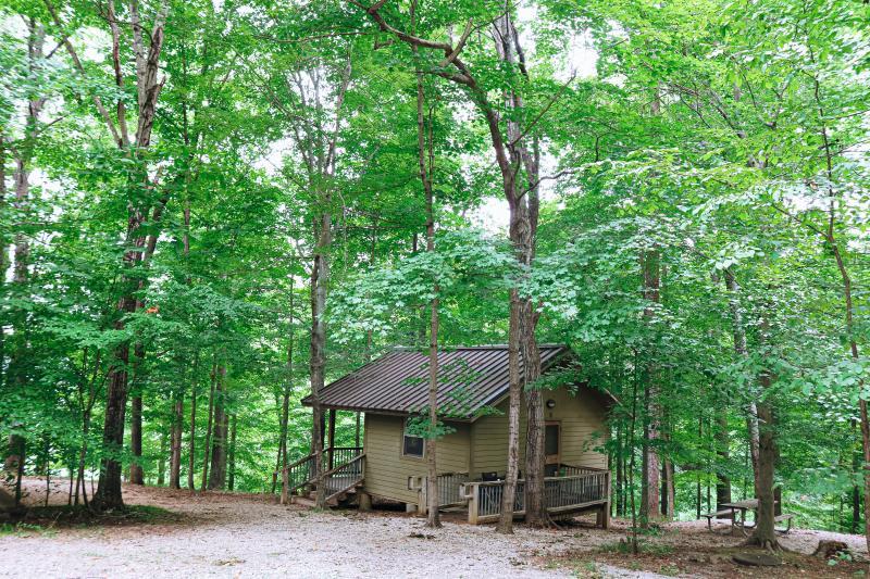 Cabin at Hardin Ridge Recreation Area