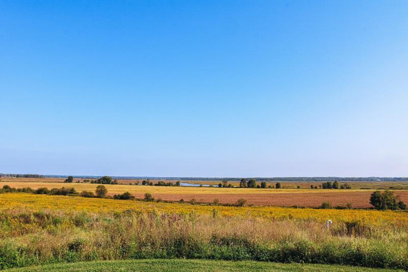 Prairie land at Goose Pond