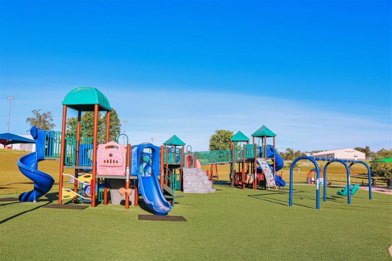 Playscape Playground at Karst Farm Park