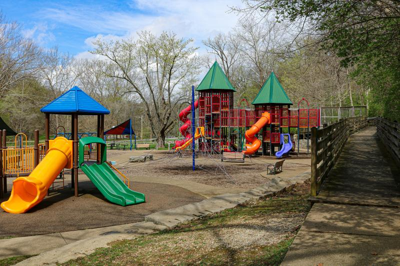 Playground at Lower Cascades Park